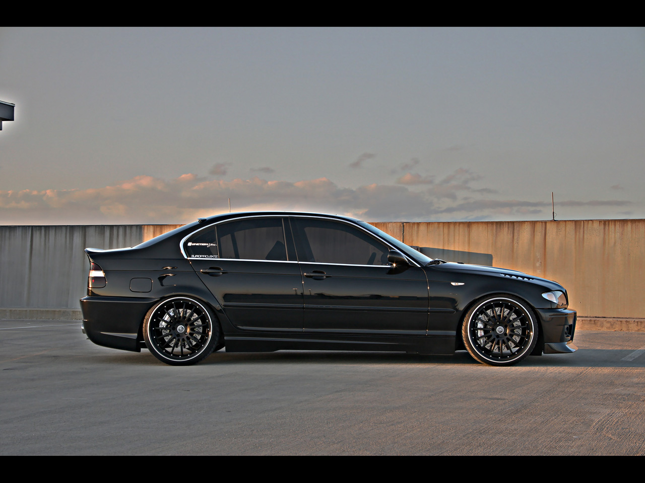 2004 BMW 330i ZHP Europrojektz DarXide - Side - 1280x960 - Wallpaper