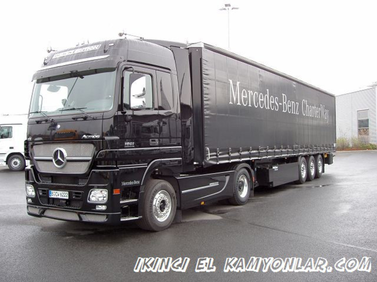 mercedes benz Actros 1861 Black Edition pictures
