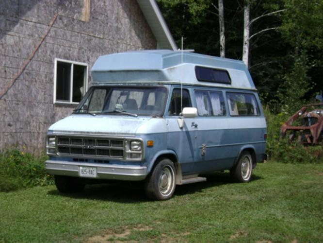 1981 GMC Curtis Conversion Camper Van in Thunder Bay, Ontario For Sale
