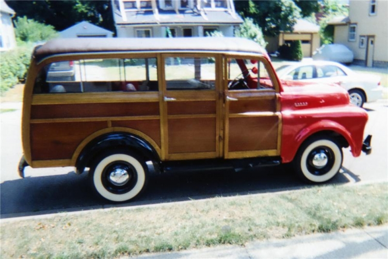 1947 DODGE WOODY STATION WAGON