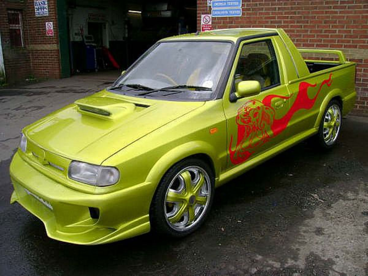 TopWorldAuto >> Photos of Skoda Felicia pickup - photo ...