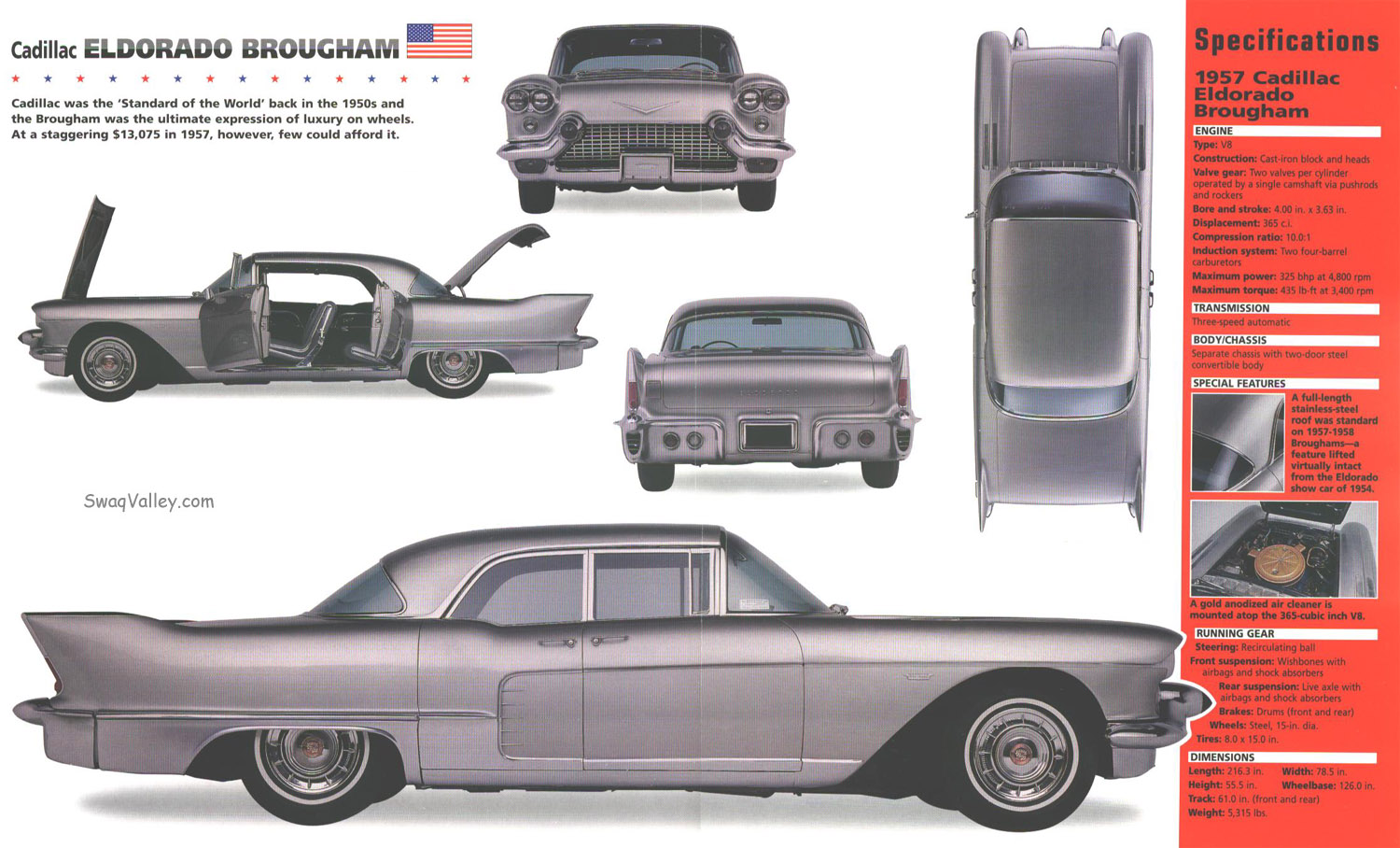 Cadillac Eldorado Brougham - cars catalog, specs, features, photos, videos,