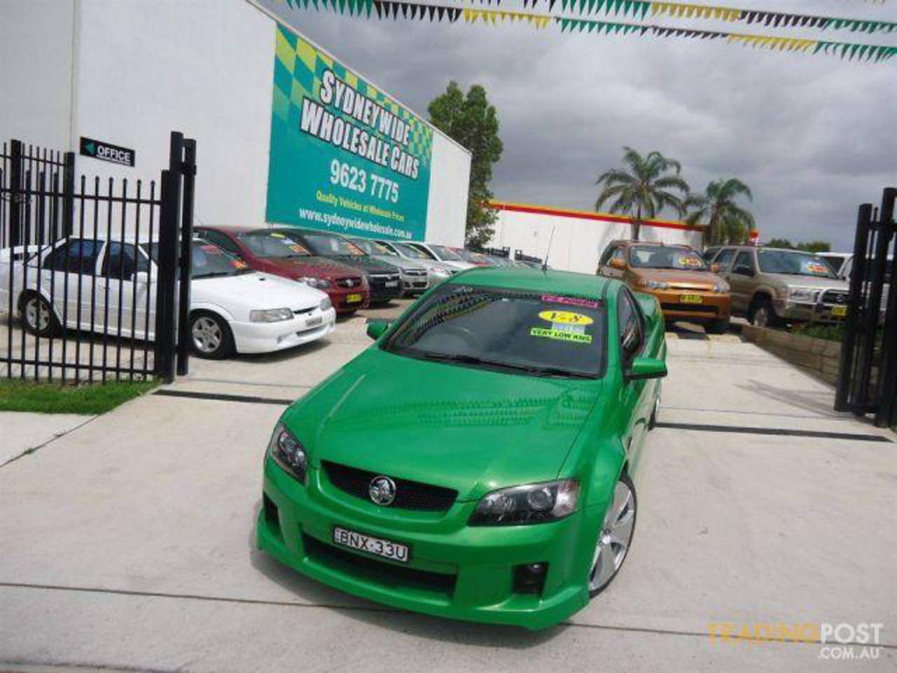 Used 2010 HOLDEN COMMODORE SS-V VE MY10 UTILITY for sale in Sydney,