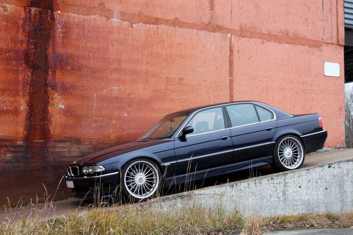 BMW 740iA -00 - Naturally aspirated 285hp/440Nm power