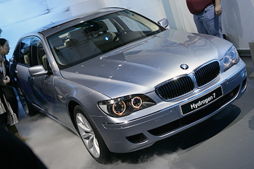 The BMW Hydrogen 7 models shall built in a limit, and for selected customers
