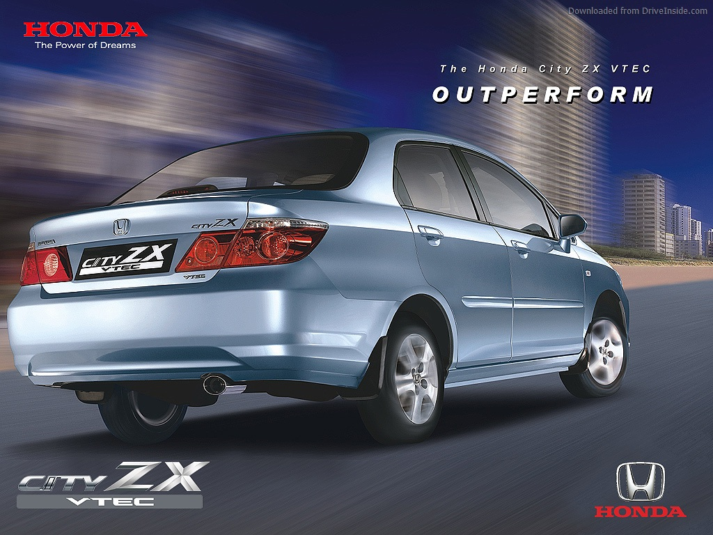 Honda City ZX Second Gen Rear Exterior