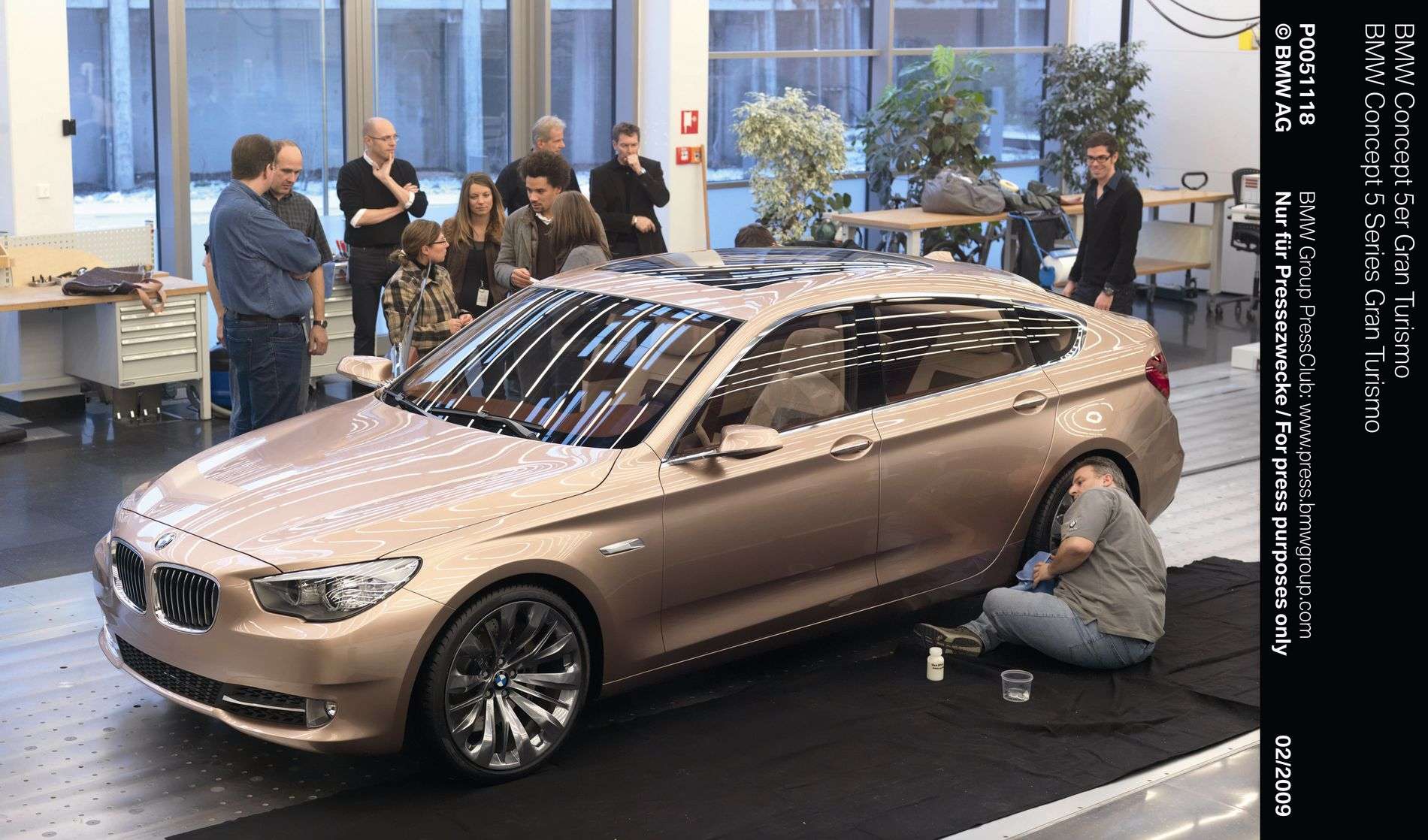 crave for. What we learned so far is that the 5 Series GT production