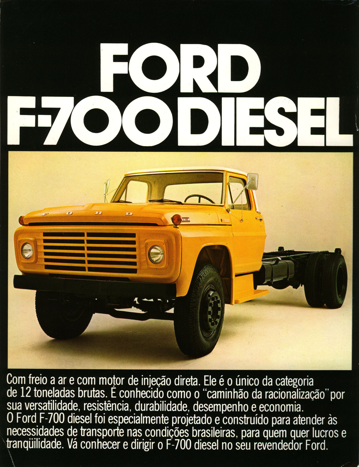 Ford F 700 brochure