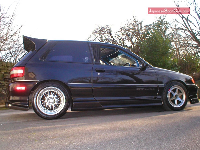 Toyota Starlet GT Turbo. Picture taken from japanesesportcar.com