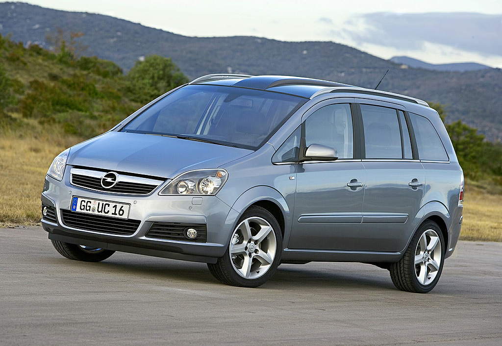 Opel Zafria - huge collection of cars, auto news and reviews, car vitals,