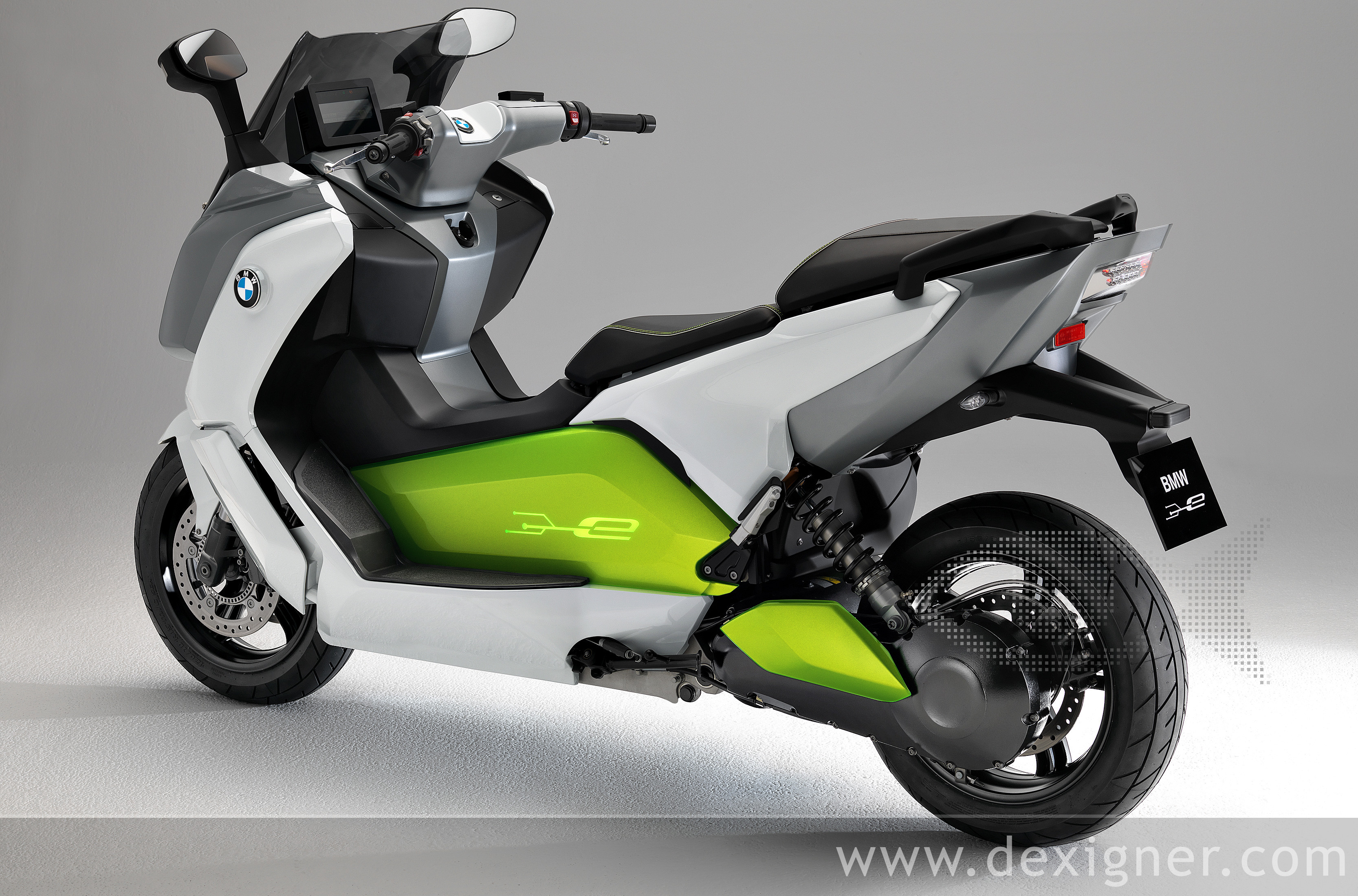 BMW Motorrad design style is also reflected in the styling of the