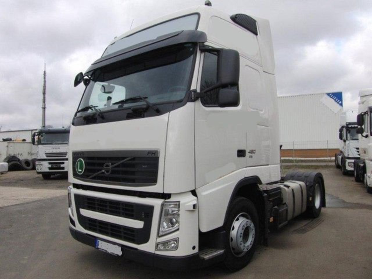 topworldauto photos of volvo fh 460 globetrotter xl. Black Bedroom Furniture Sets. Home Design Ideas