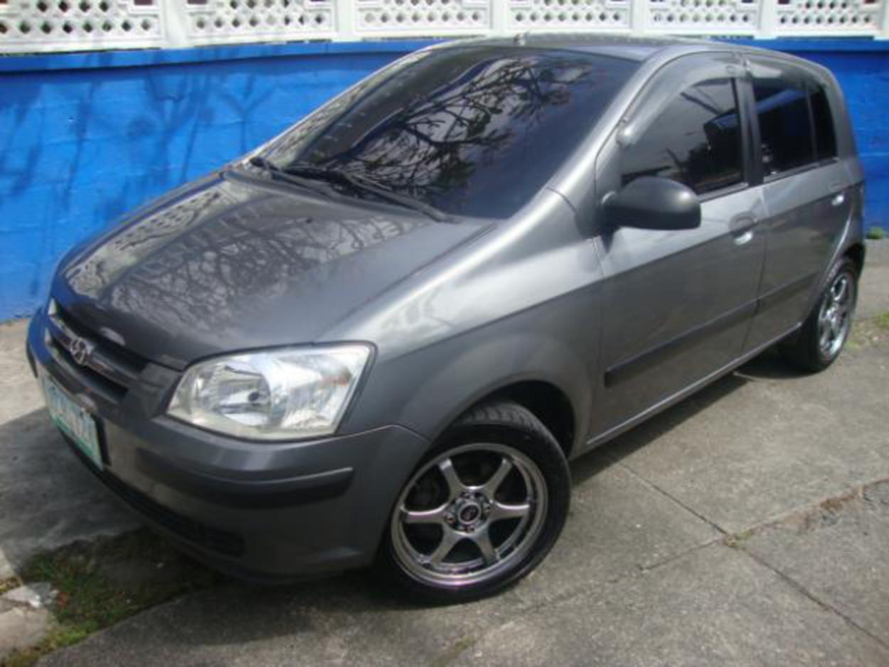 Pictures of 2005 HYUNDAI GETZ GL
