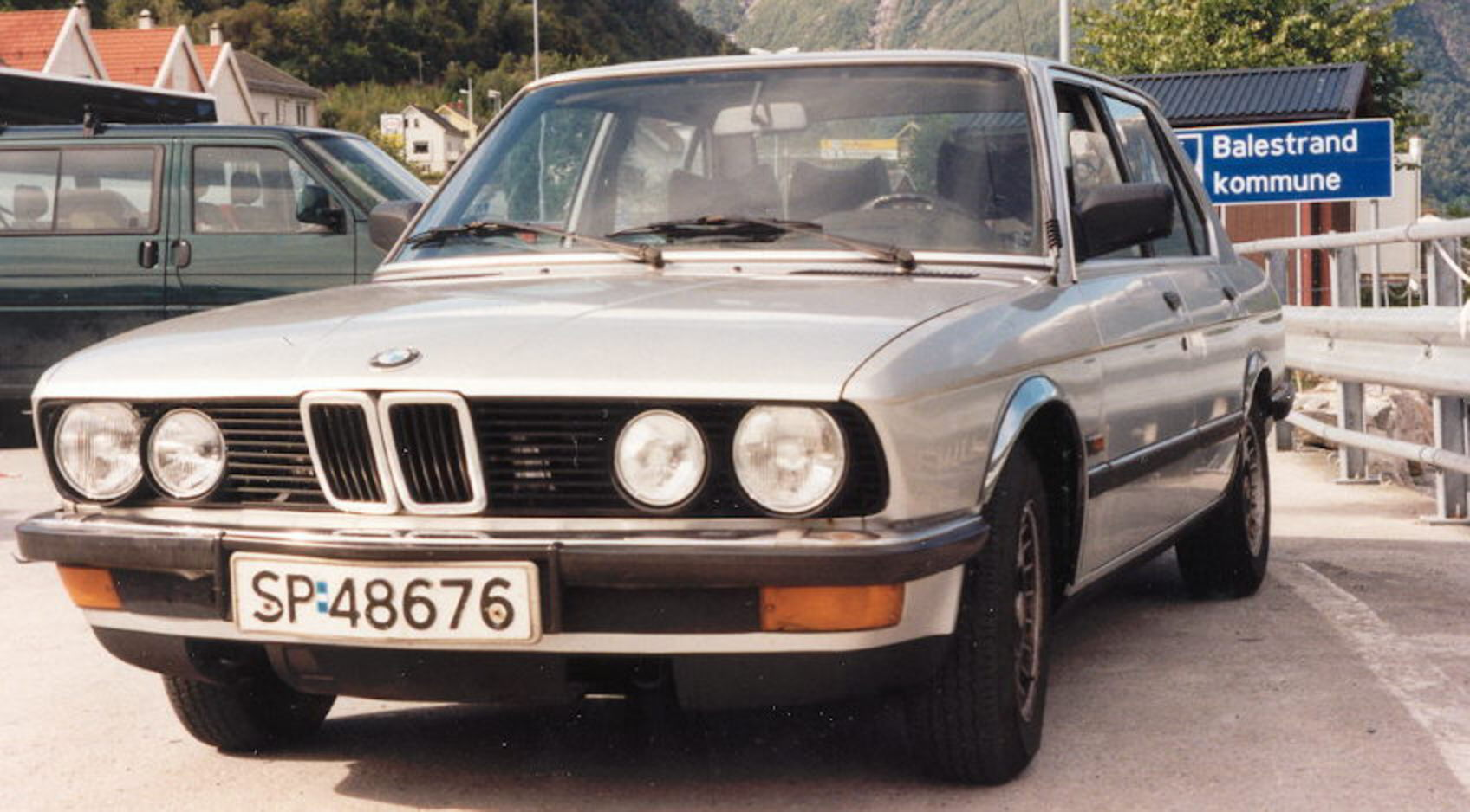 1990 BMW 5 Series, 1990 BMW 518 picture