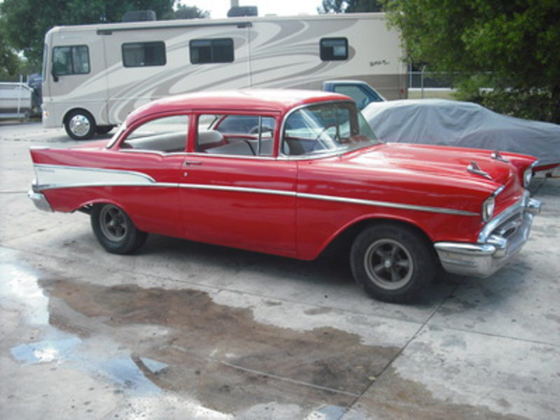 1957 CHEVROLET 210 SEDAN TWO DOOR
