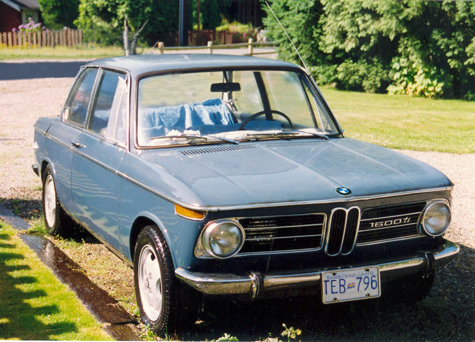 1969 BMW 1600 ti. The sweetest little Bimmer this side of München