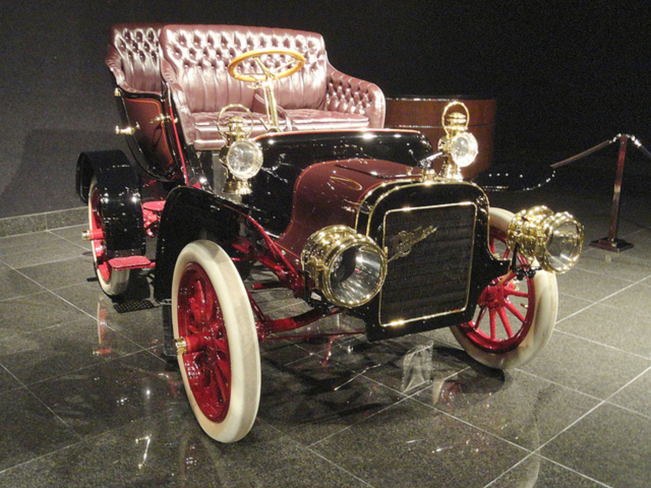 1906 Cadillac Model M, Tulip Tourer. The Cadillac Motor Car Company was