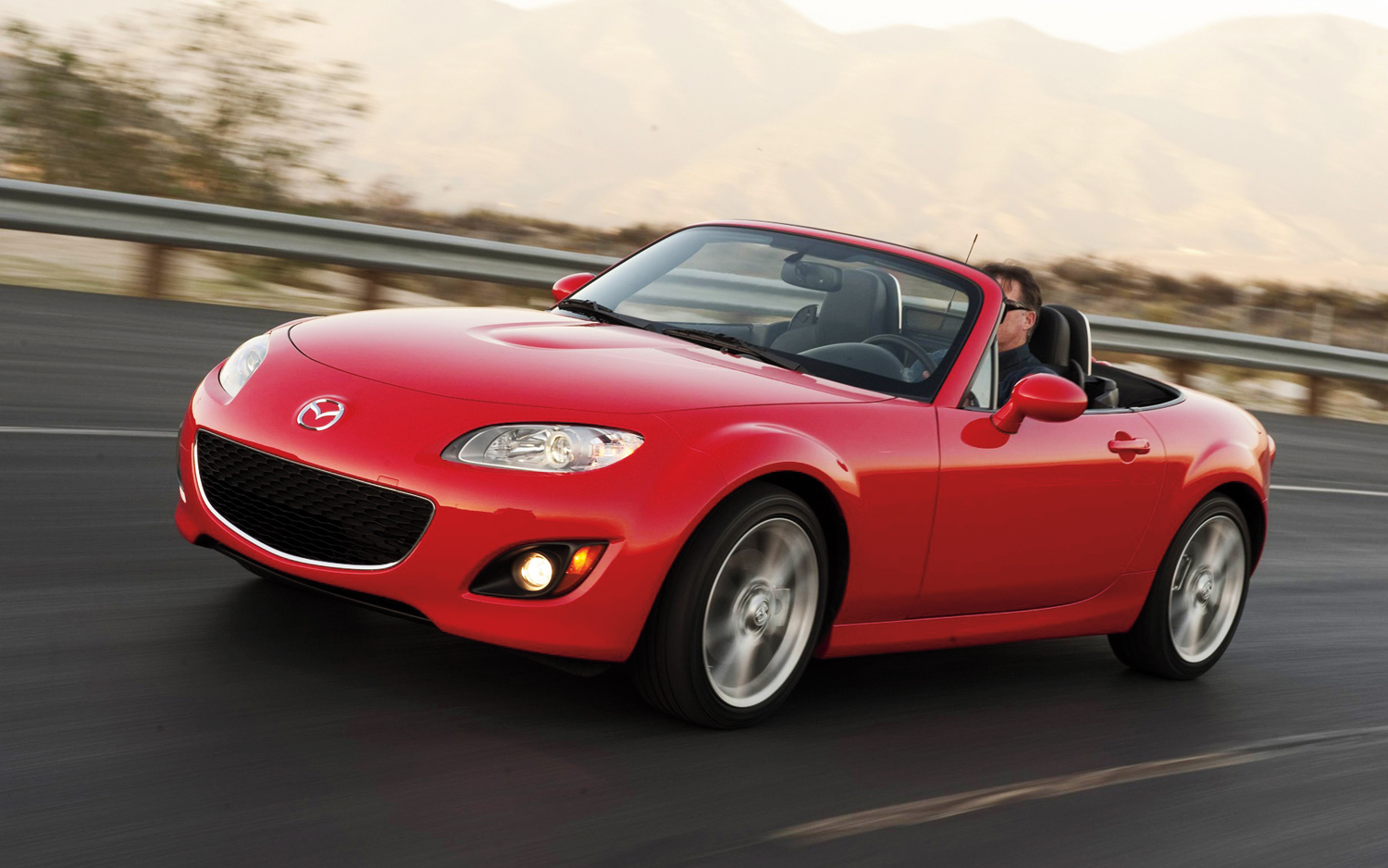 2012 Mazda MX 5 Miata Front Three Quarters
