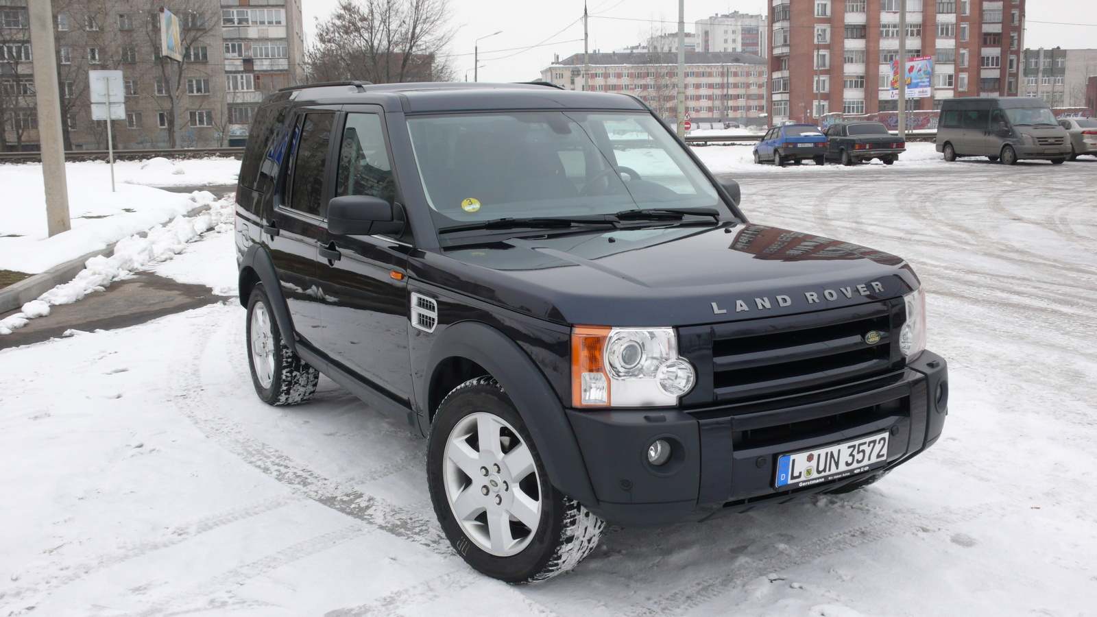 2004 Land Rover Discovery, 2007 Land Rover LR3 HSE picture, exterior