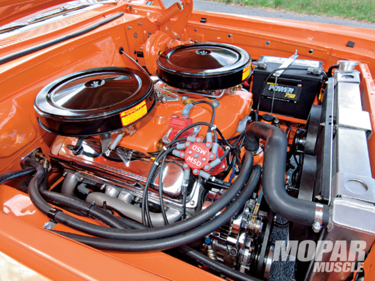 1964 Dodge 440 Station Wagon Engine