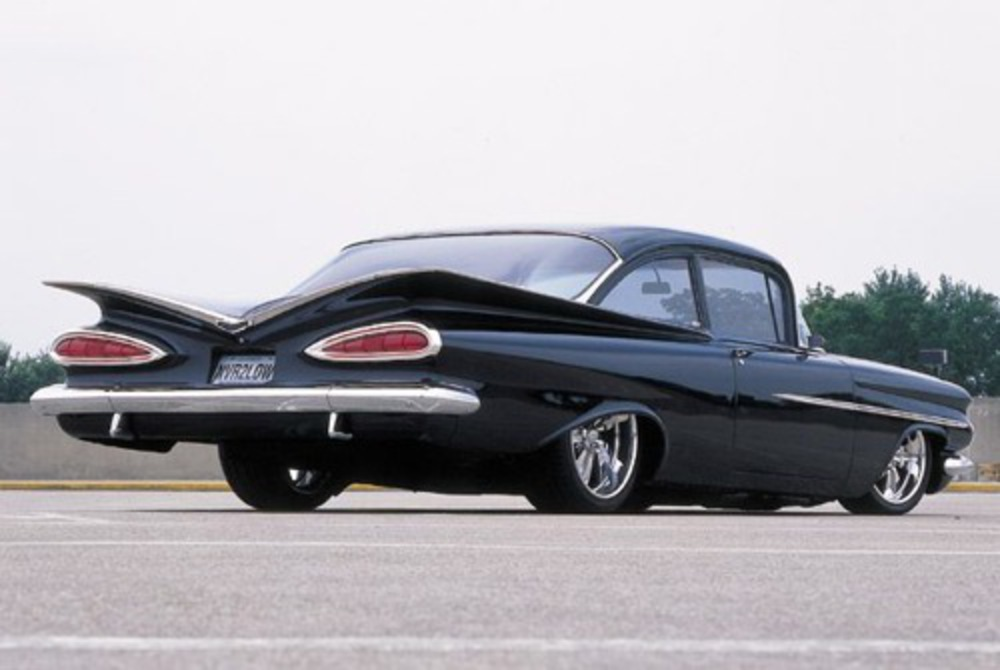 1959 Chevrolet Biscayne. Honestly, if you don't think this thing looks