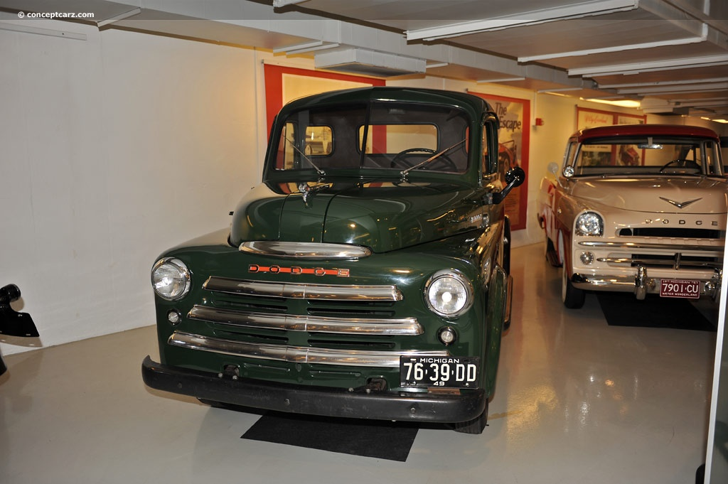 1949 Dodge Half-Ton Pickup Images, Information and History (1/2-ton)