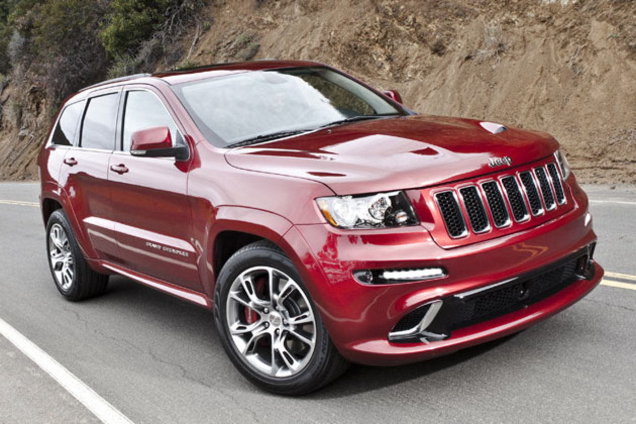 Well Chrysler has just revealed the new Jeep Grand Cherokee SRT-8 will be