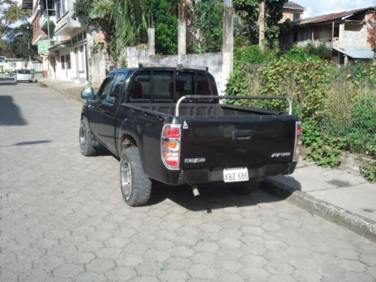 Mazda Bt50 2.5 turbo Diesel FreeStyle - Motor