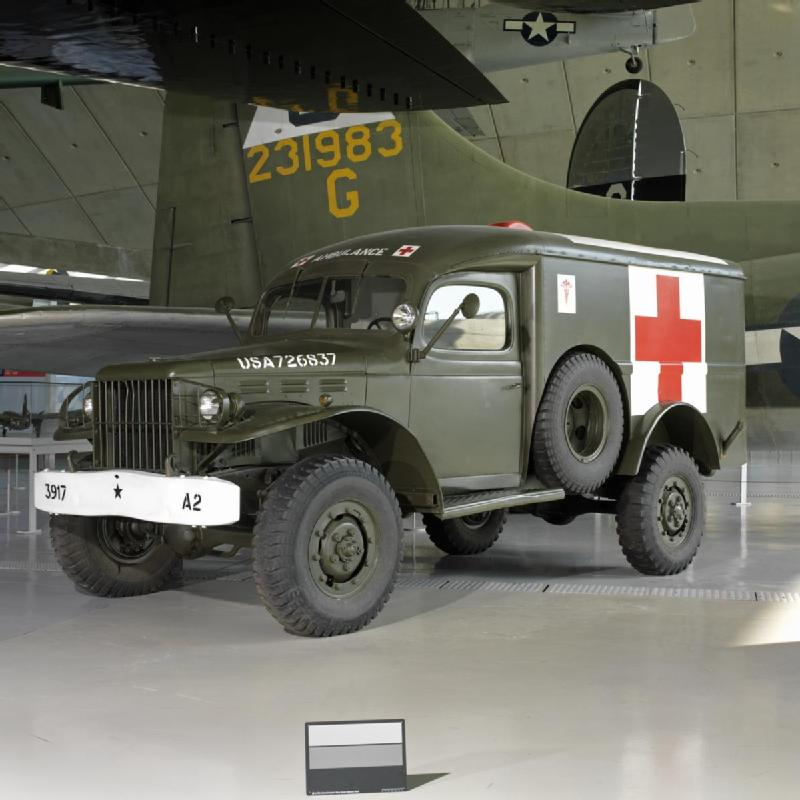 Dodge WC54 Ambulance. 1/1. Catalogue number. 4008.28.1