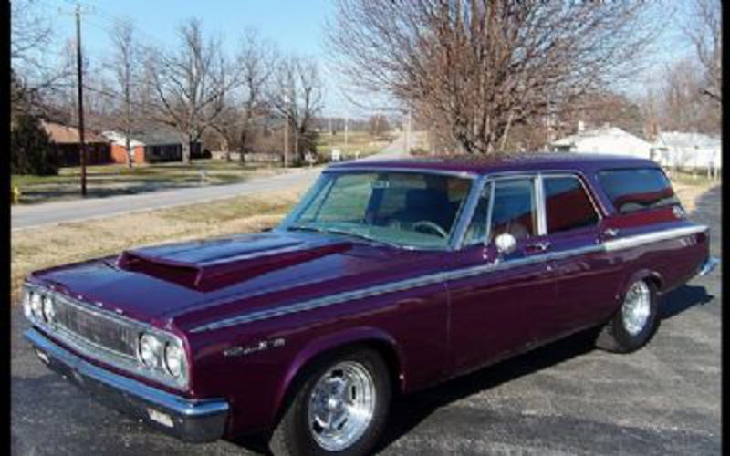1964 Dodge 440 Station Wagon Mopar Muscle