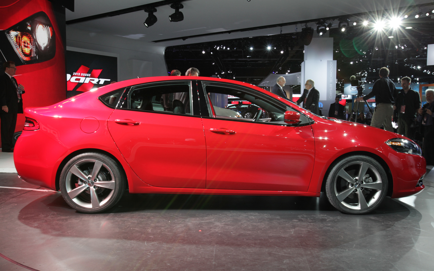 2013 Dodge Dart Side View