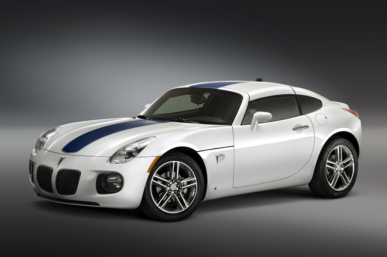 2009 Pontiac Solstice. It's just fun. It's hard to say more than that,