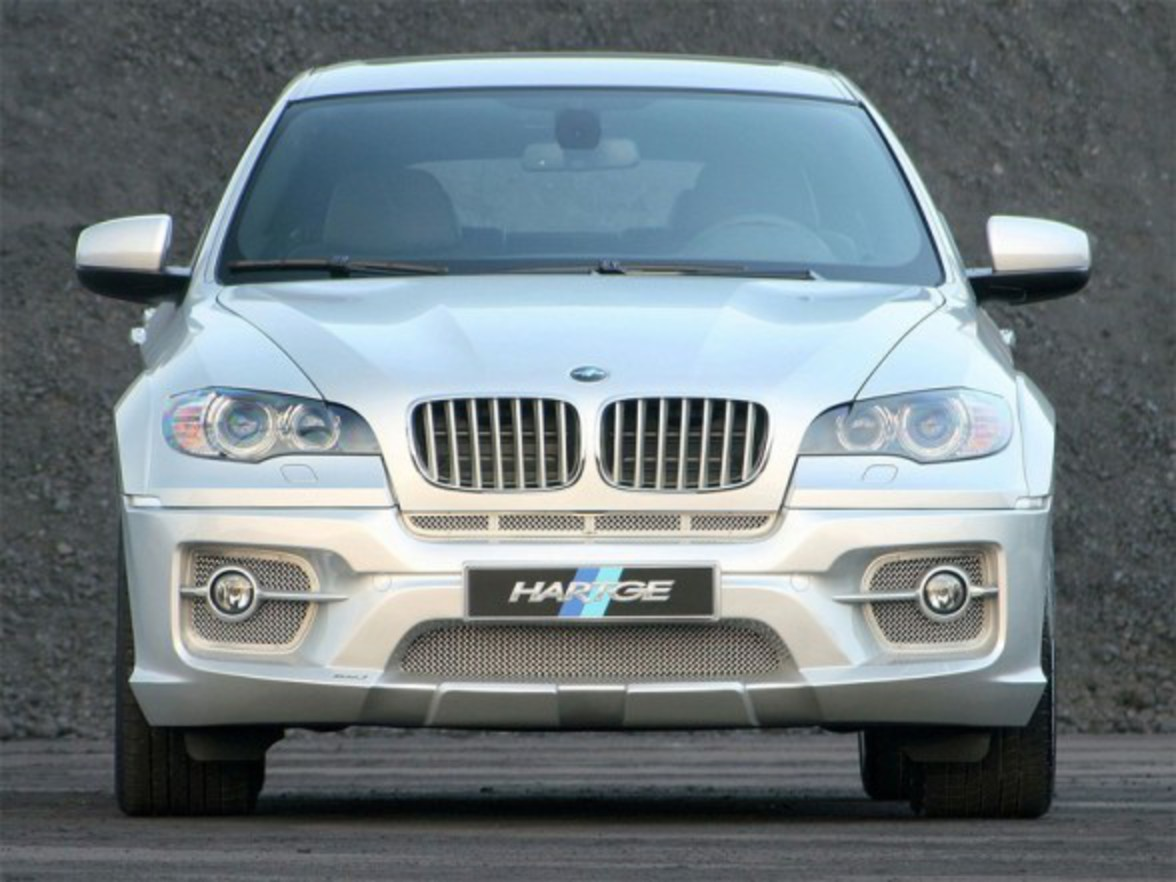 Hartge X6 based on BMW X6 xDrive35d tuned by the specialists from Germany's