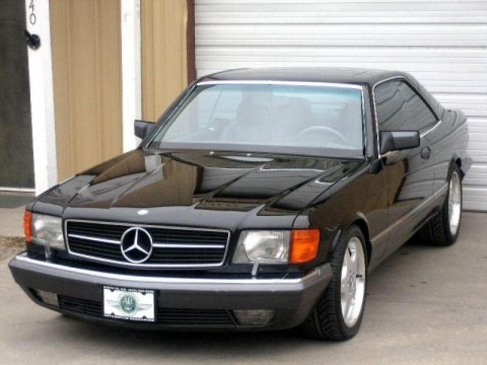 TopWorldAuto >> Photos of Mercedes-Benz 560 SEC Coupe