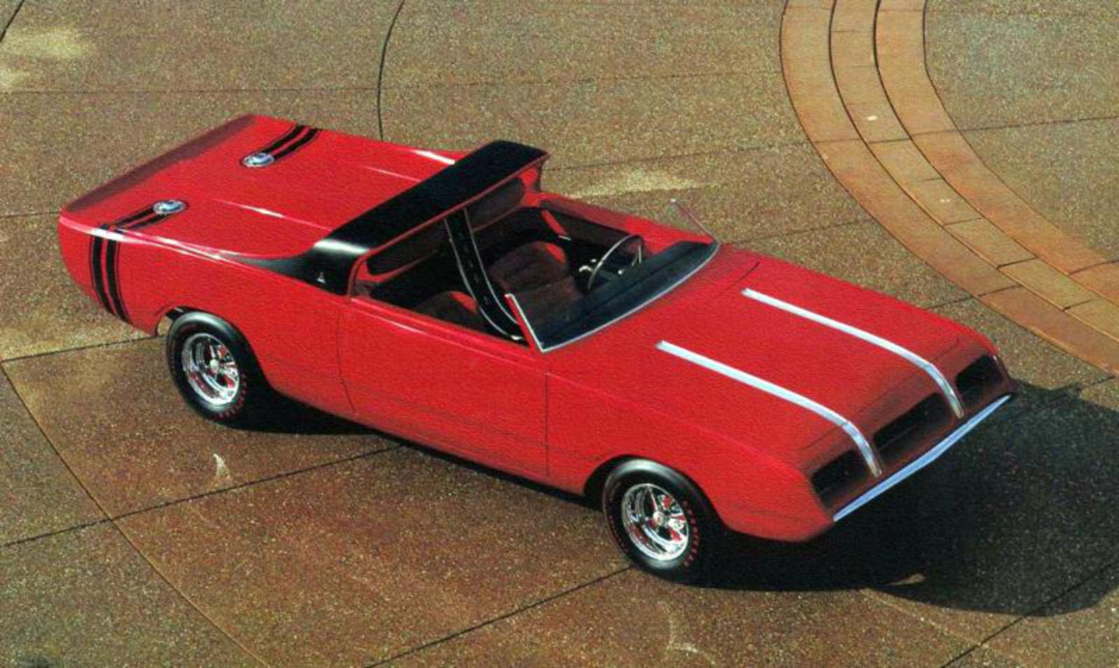 Dodge Daroo II show car – United States
