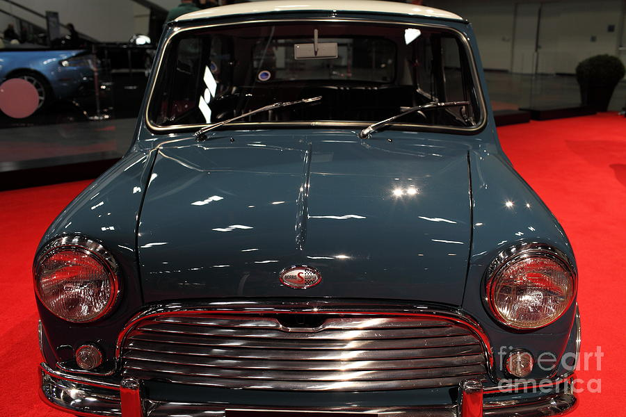 1970 Morris Mini Cooper S - 5d19920 Photograph by Wingsdomain Art ...