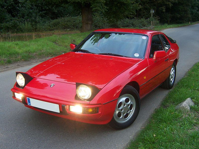 Porsche 924. The 5-speed transmission was made available from the year 1979