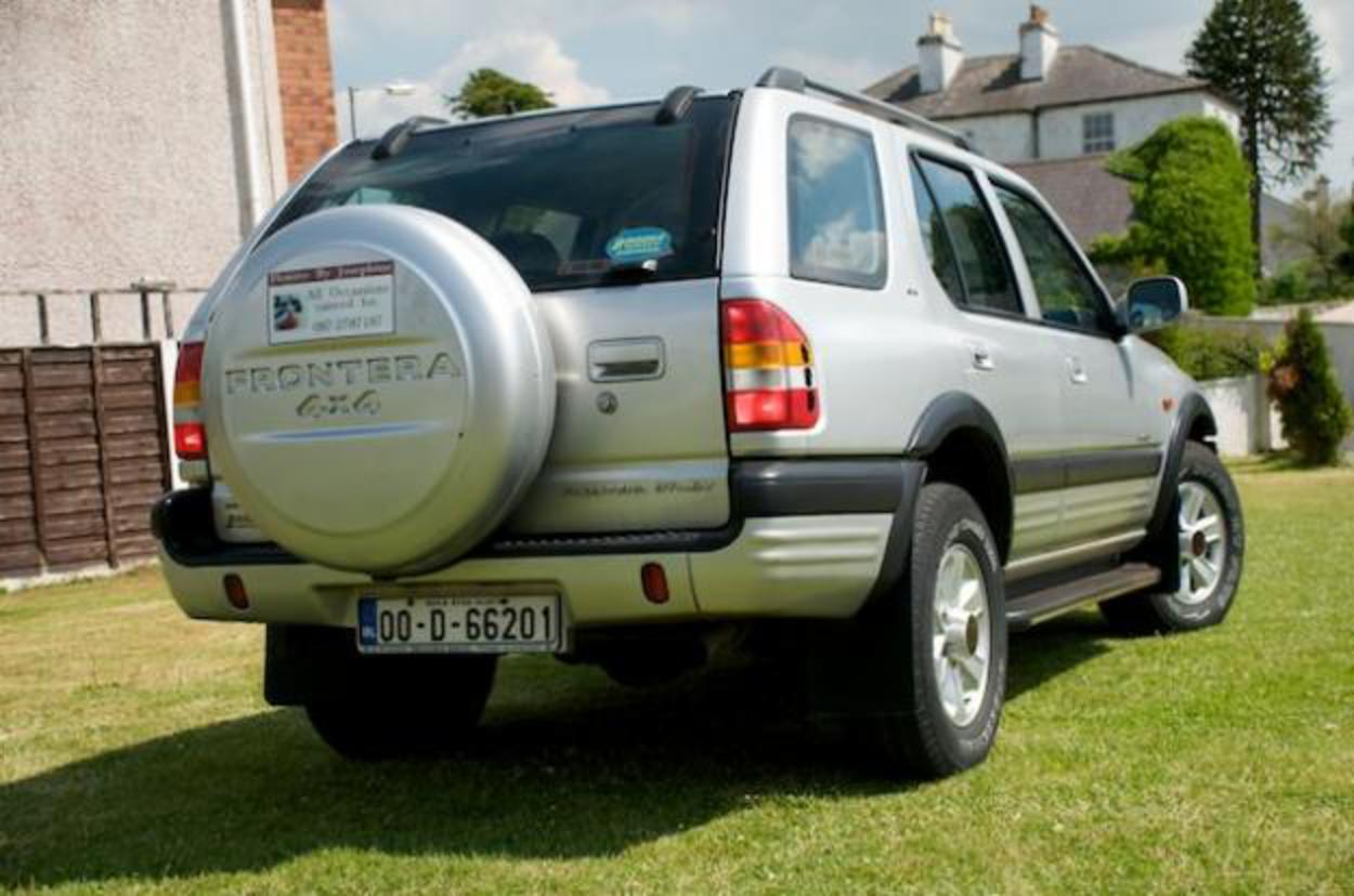 Opel Frontera 22 Sport - huge collection of cars, auto news and reviews,