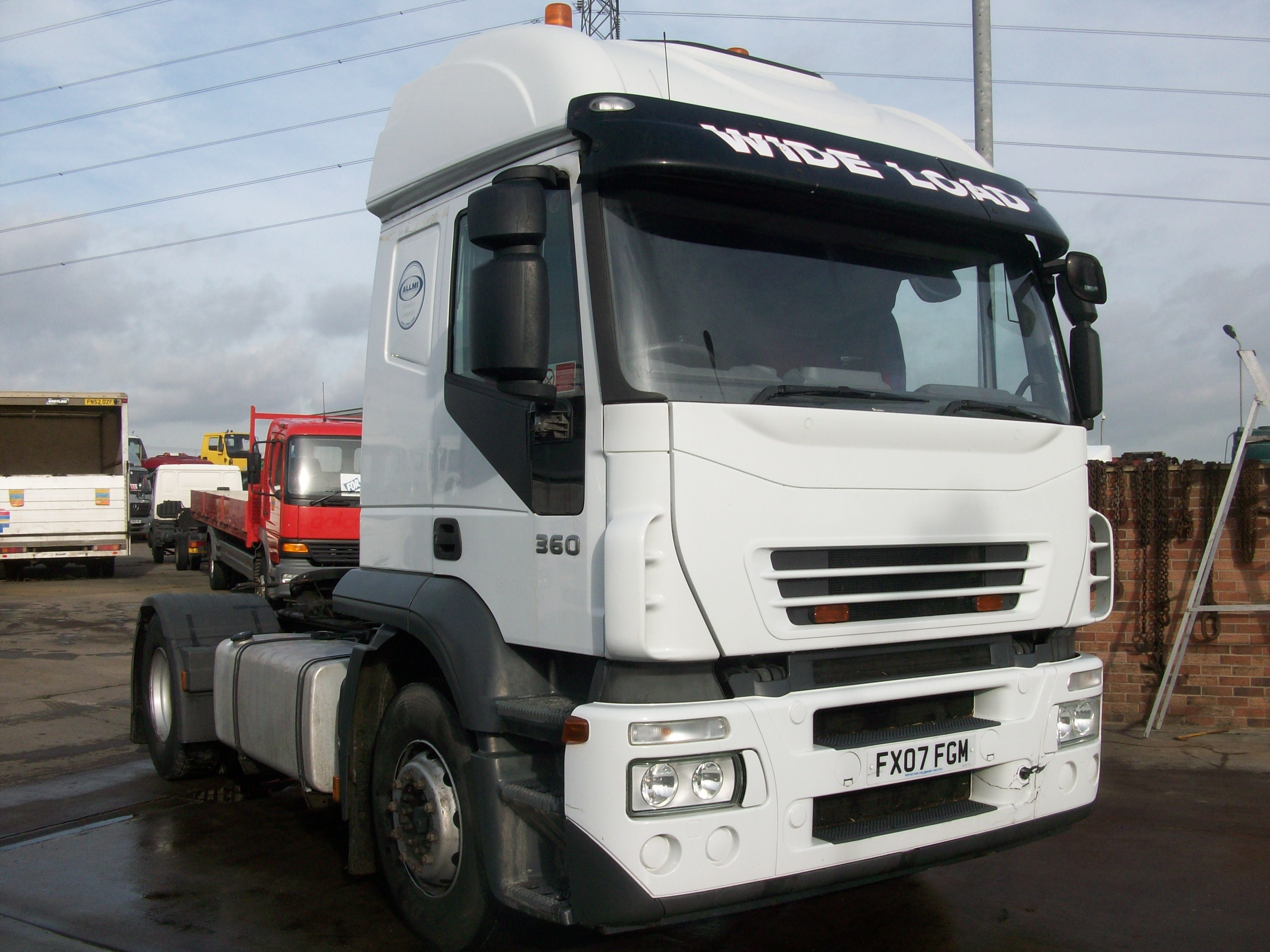 2007 Iveco 360 stralis 4x2 units. Hover over image to zoom