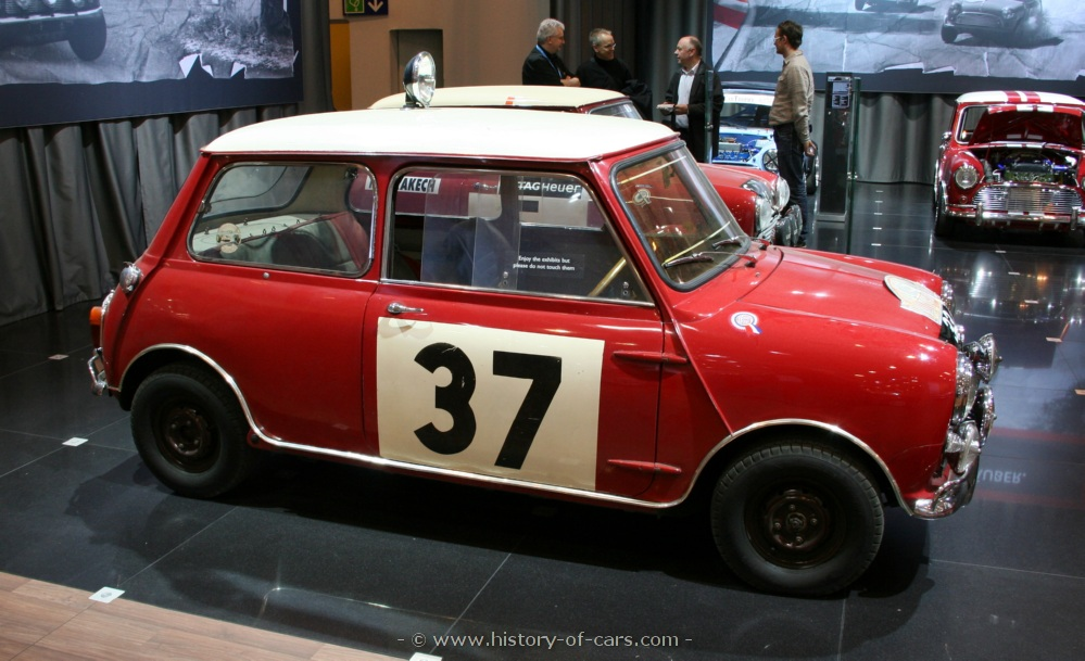 mini 1963 morris mini cooper s rally - the history of cars ...