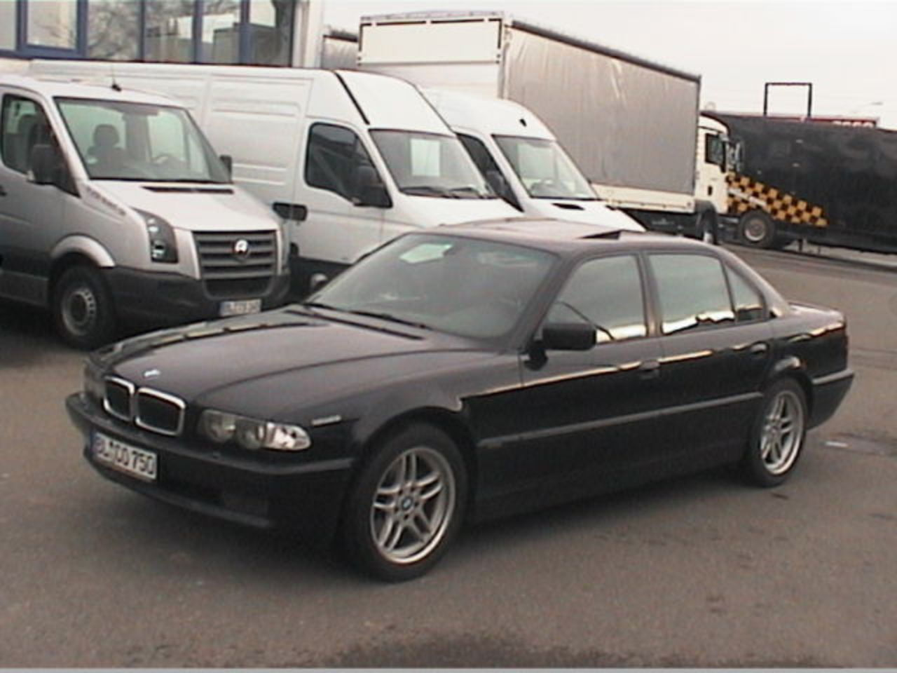 BMW 750 iAL - huge collection of cars, auto news and reviews, car vitals,