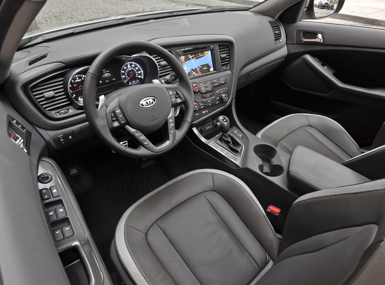 2011 Kia Optima to Arrive in Early Fall with the Hybrid Coming in ...