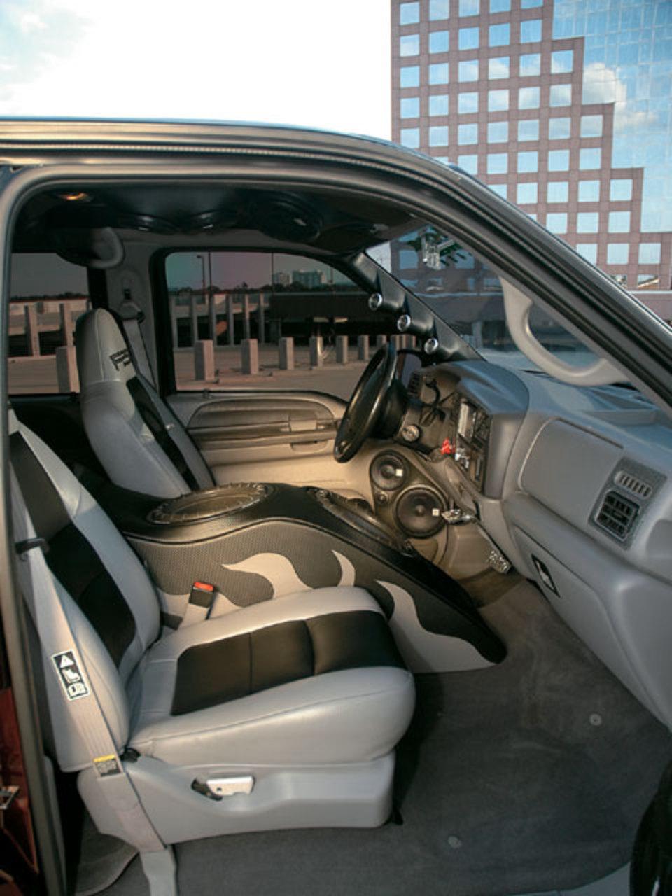 Ford F Custom Interior Ca E