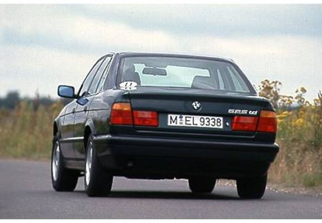 BMW 525td (1993-1995, E34) Heck + links
