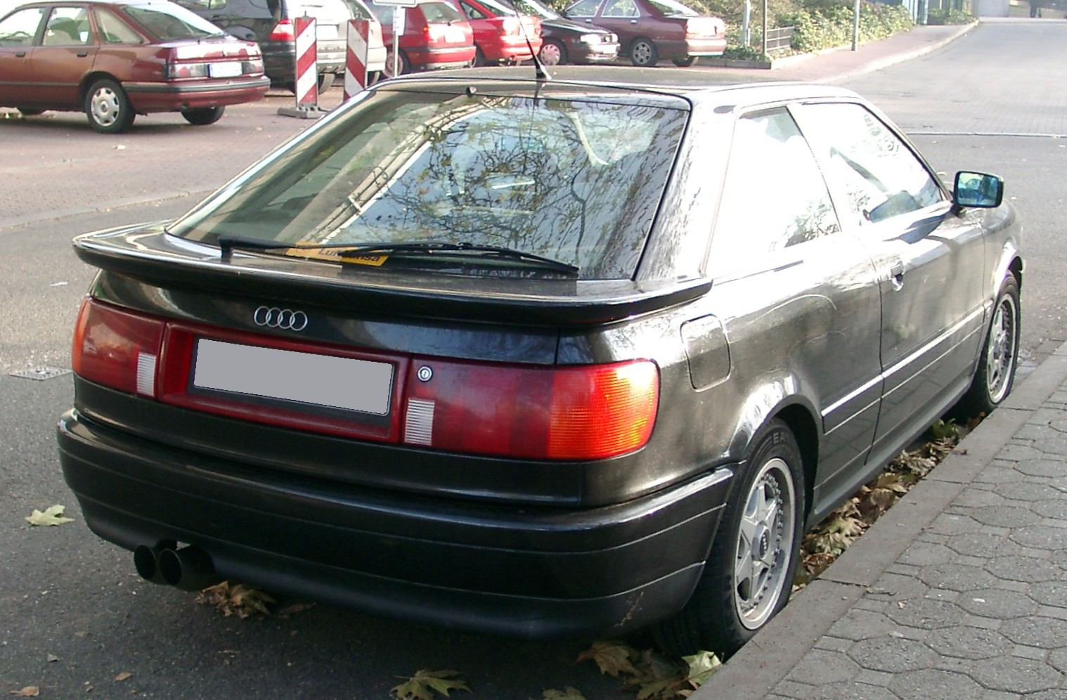 File:Audi Coupe rear 20071129.jpg - Wikimedia Commons