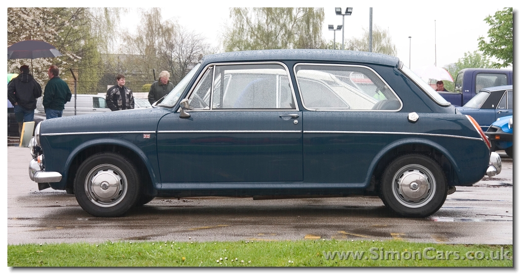 MG 1300 MkII 2door. In 1967 the 1100 range was revised with the MkII models