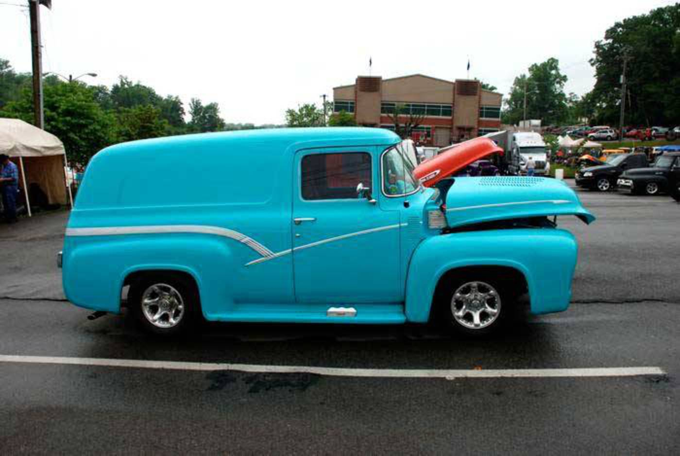 Topworldauto Photos Of Ford F 100 Panel Photo Galleries 1956 F100 Wiring Diagram Truck 2009 Supernationals