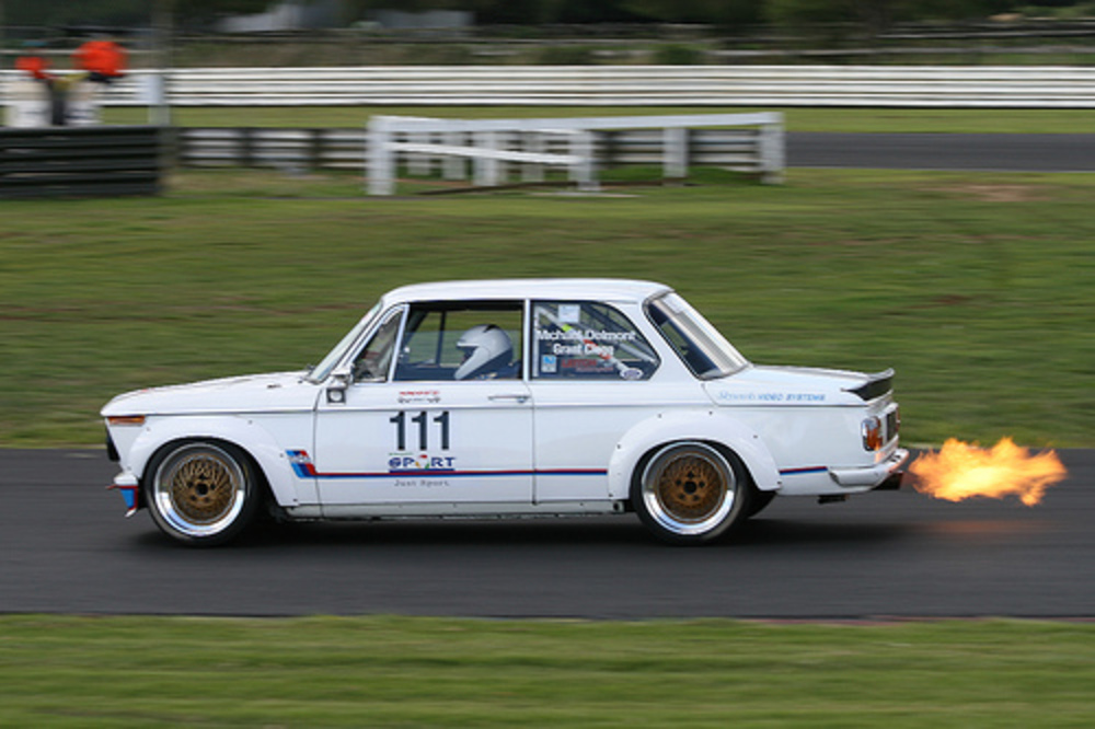 1975 BMW 2002 Turbo. BMW Open class series ~ Legends of Speed ~ Pukekohe,