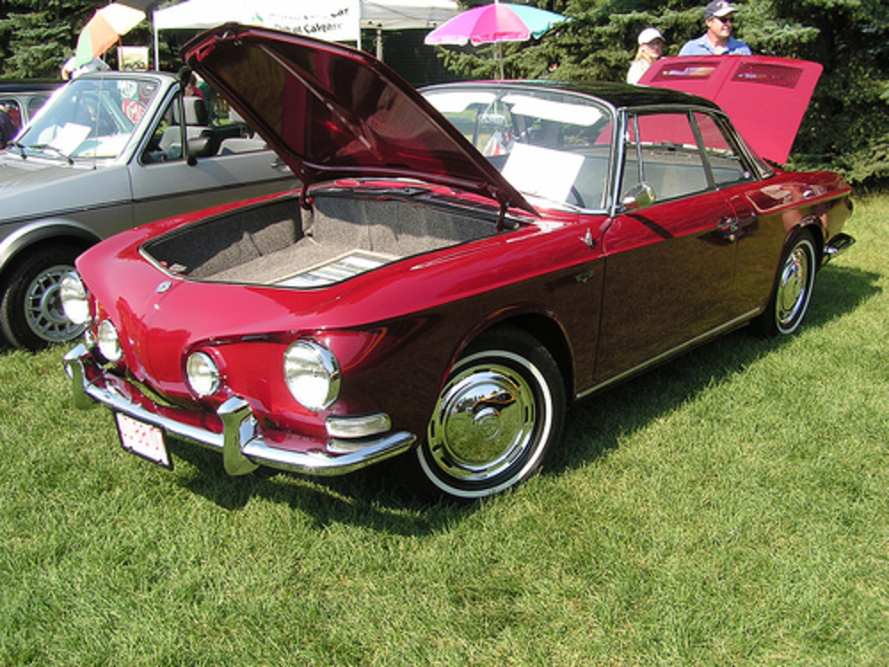 Over 445,000 Karmann Ghias were produced in Germany over the car's