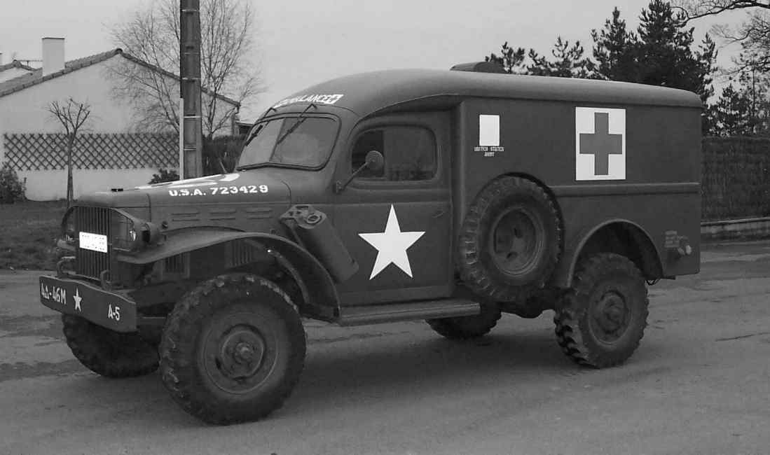 dodge wc54 (ambulance) : 1